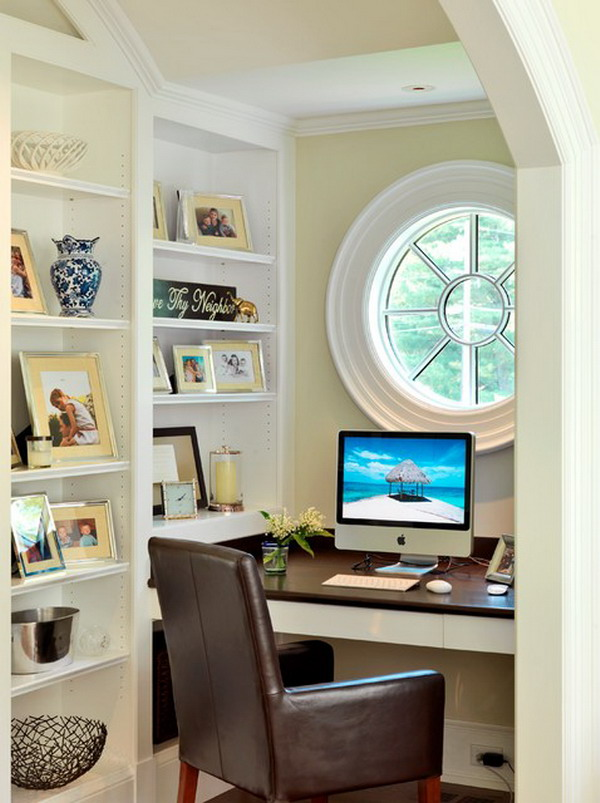22 home office ideas for small spaces work at home Small office makeover ideas