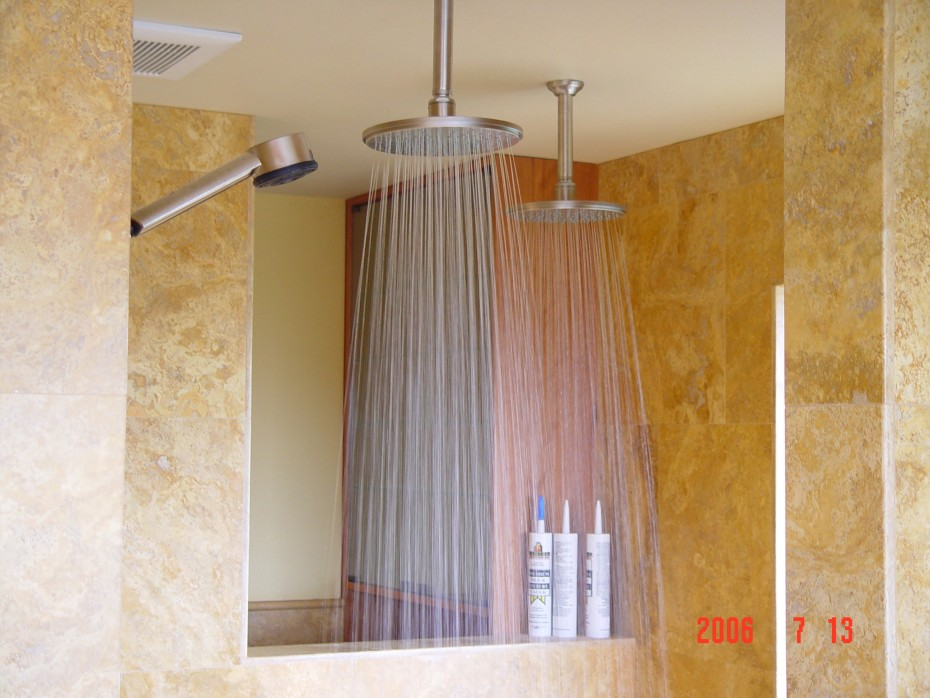 15 Impressive Rain Shower Head Styles For Your Bathroom - hgnv