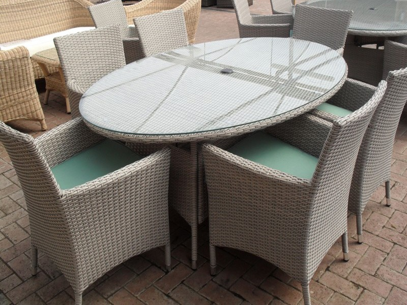 view in gallery 6 seater rattan garden furniture - Rattan Garden Furniture 6 Seater
