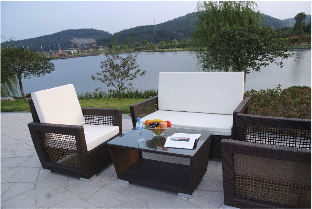 Awesome rattan garden furniture hgnv com for All weather garden furniture