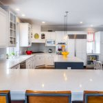 Turn Your Small Kitchen To Look Bigger With White Kitchen Cabinets