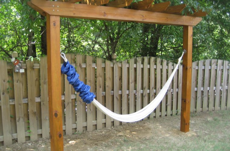 Hammock With Stand Final Product With Single Hammock