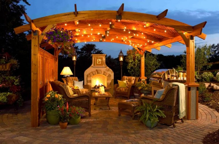 20 Awesome Outdoor Lighting Ideas You Might Want to Try HGNVCOM