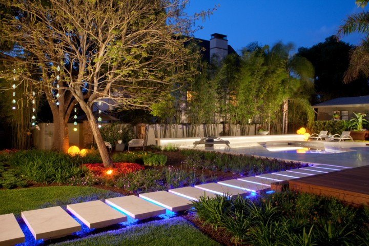 Outdoor Lighting Design Ideas outdoor landscape lighting ideas View In Gallery Landscape Lighting Ideas For Walkways Outdoor Lighting Design Ideas