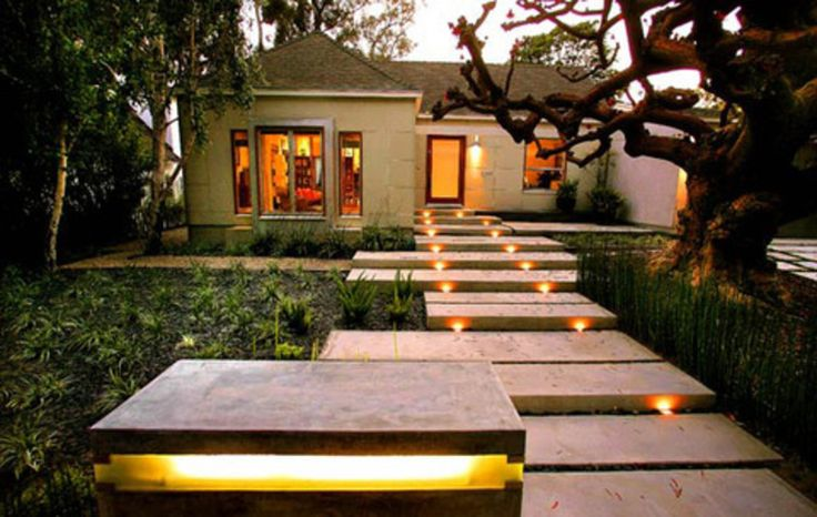 Outdoor Lighting Design Ideas outdoor landscape lighting View In Gallery Walkway Outdoor Lighting Effects View Trend Design Interior