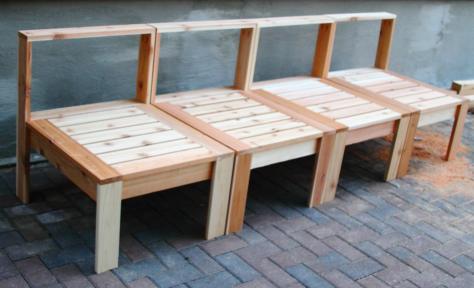 15 really creative diy furniture hacks ideas hgnv view in gallery creative wood bench patio furniture diy projects solutioingenieria Gallery