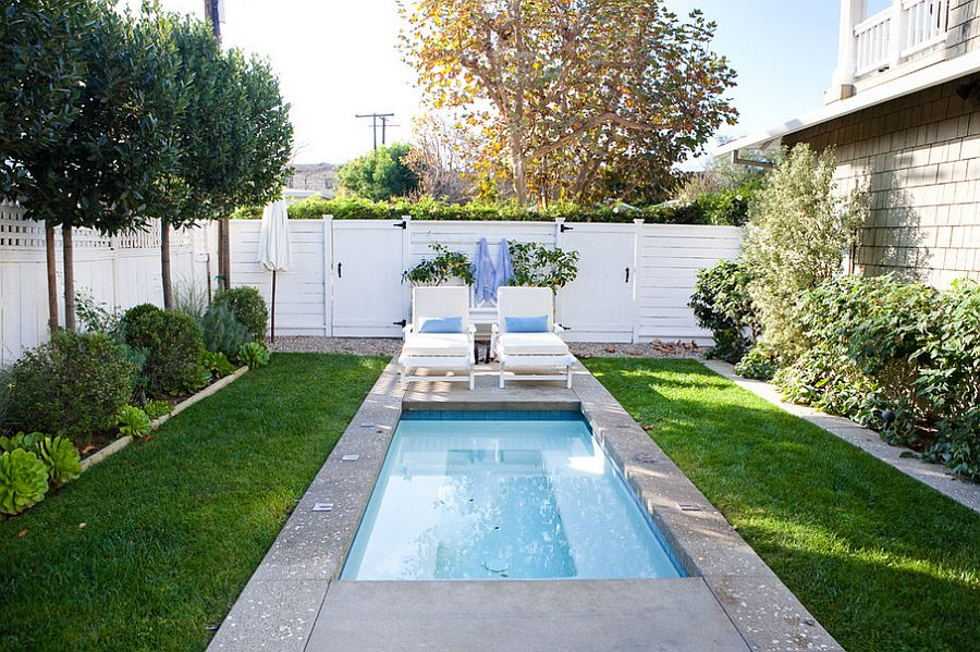 Small Backyard Landscaping Ideas With Above Ground Pool