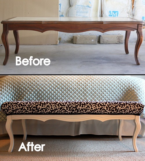 diy Decorative Bench