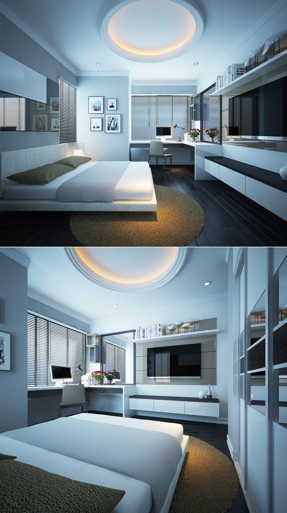 10 eye catching modern bedroom decoration ideas modern for Chambre ultra design