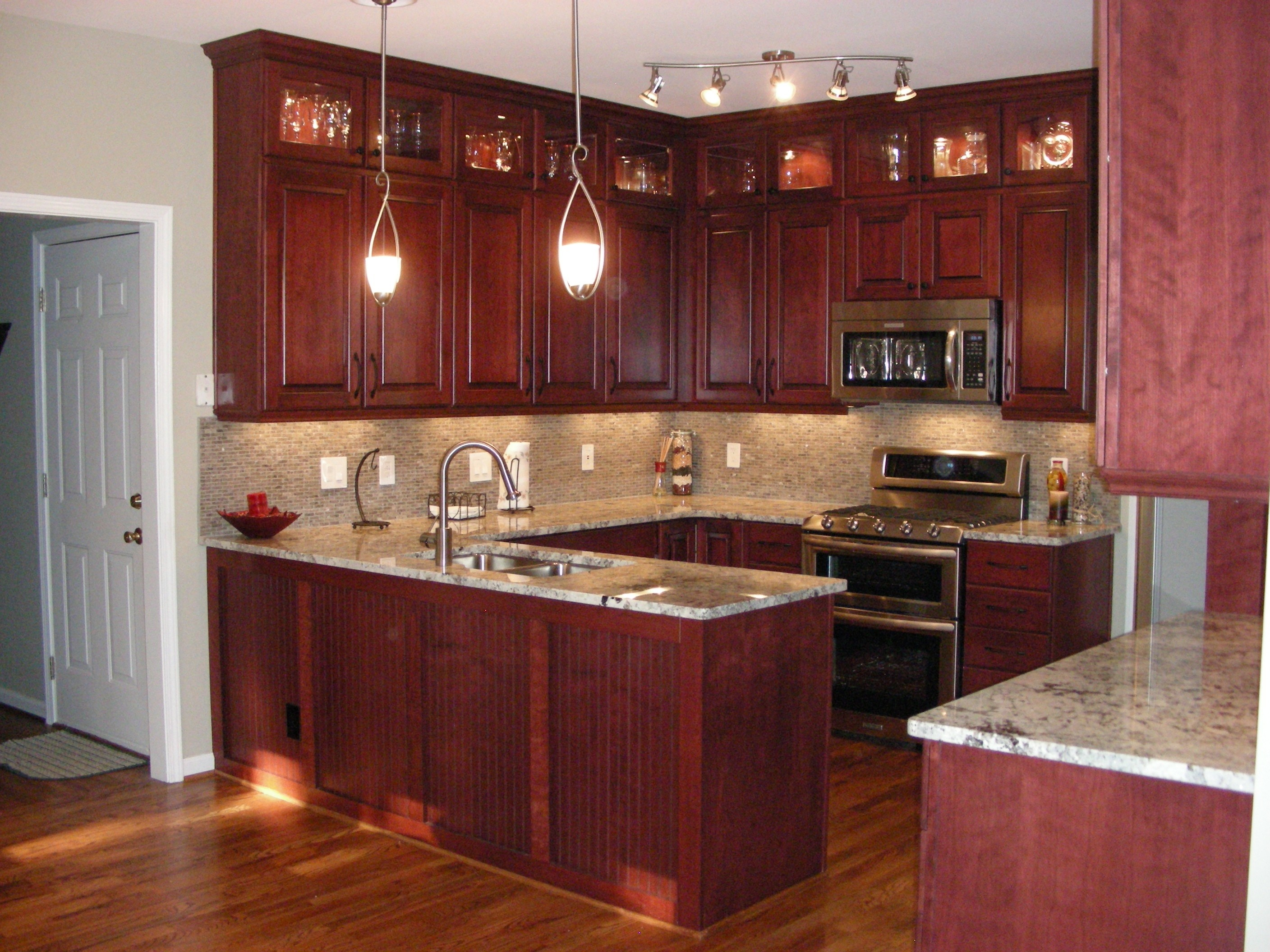 cherry-kitchen-cabinet-door