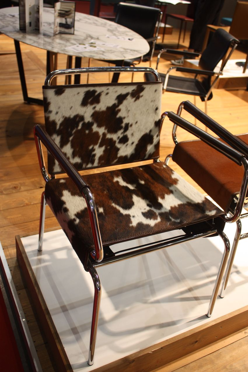 Art Leather Cow Chair Dining Room Decoration Furniture Ideas