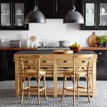 cooper double kitchen island freestanding williams sonoma