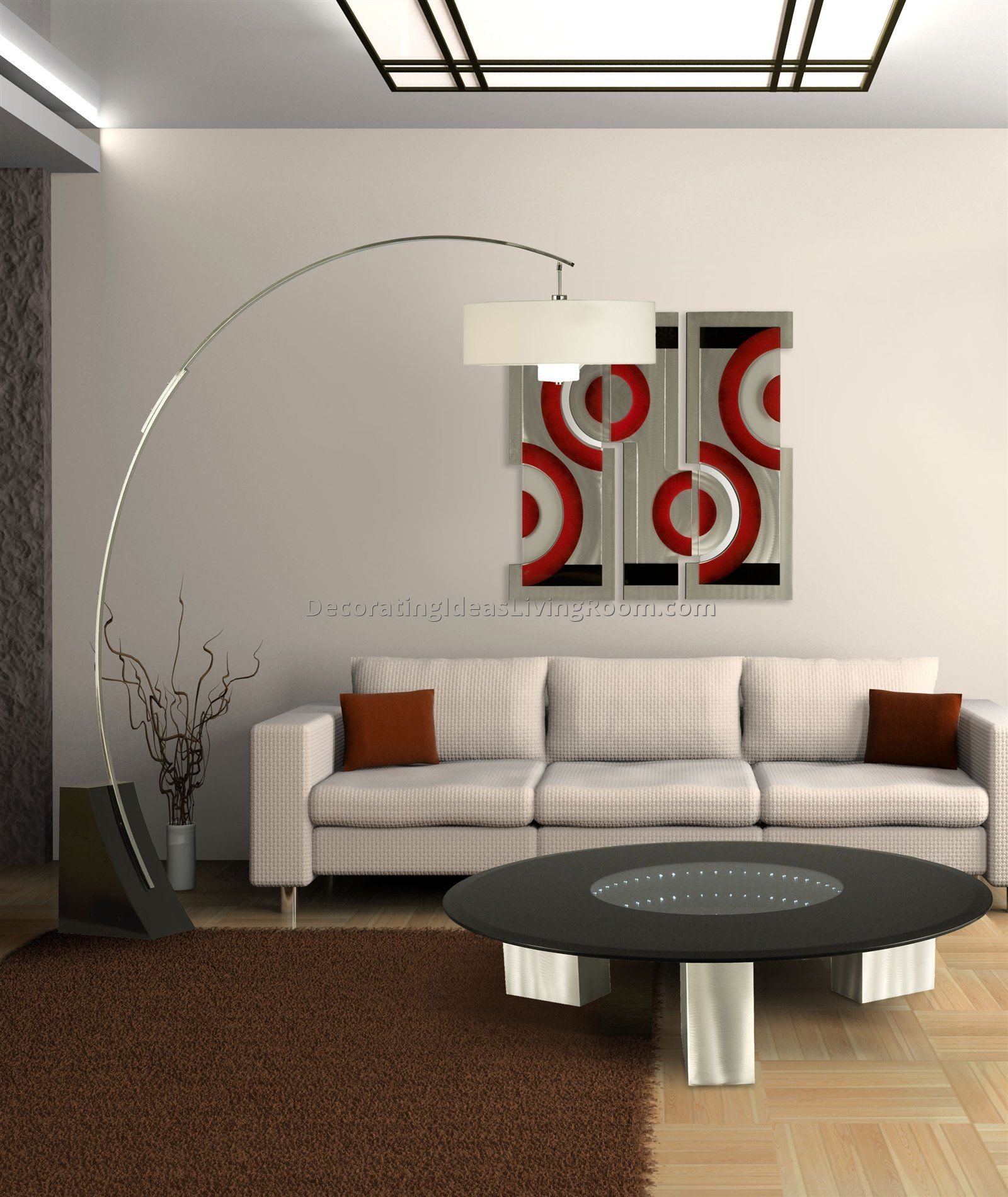 VIEW IN GALLERY Bright Floor Lamp For Living Room 12