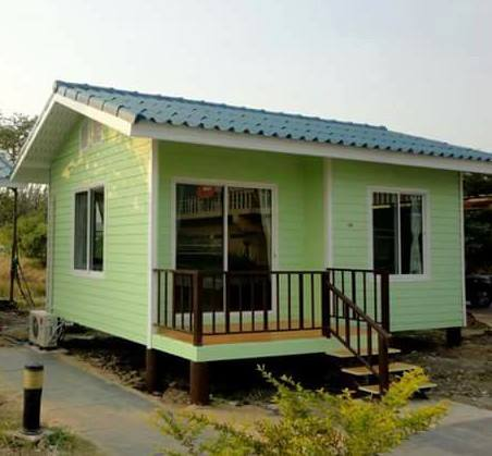 Simple Green Tiny House Plans