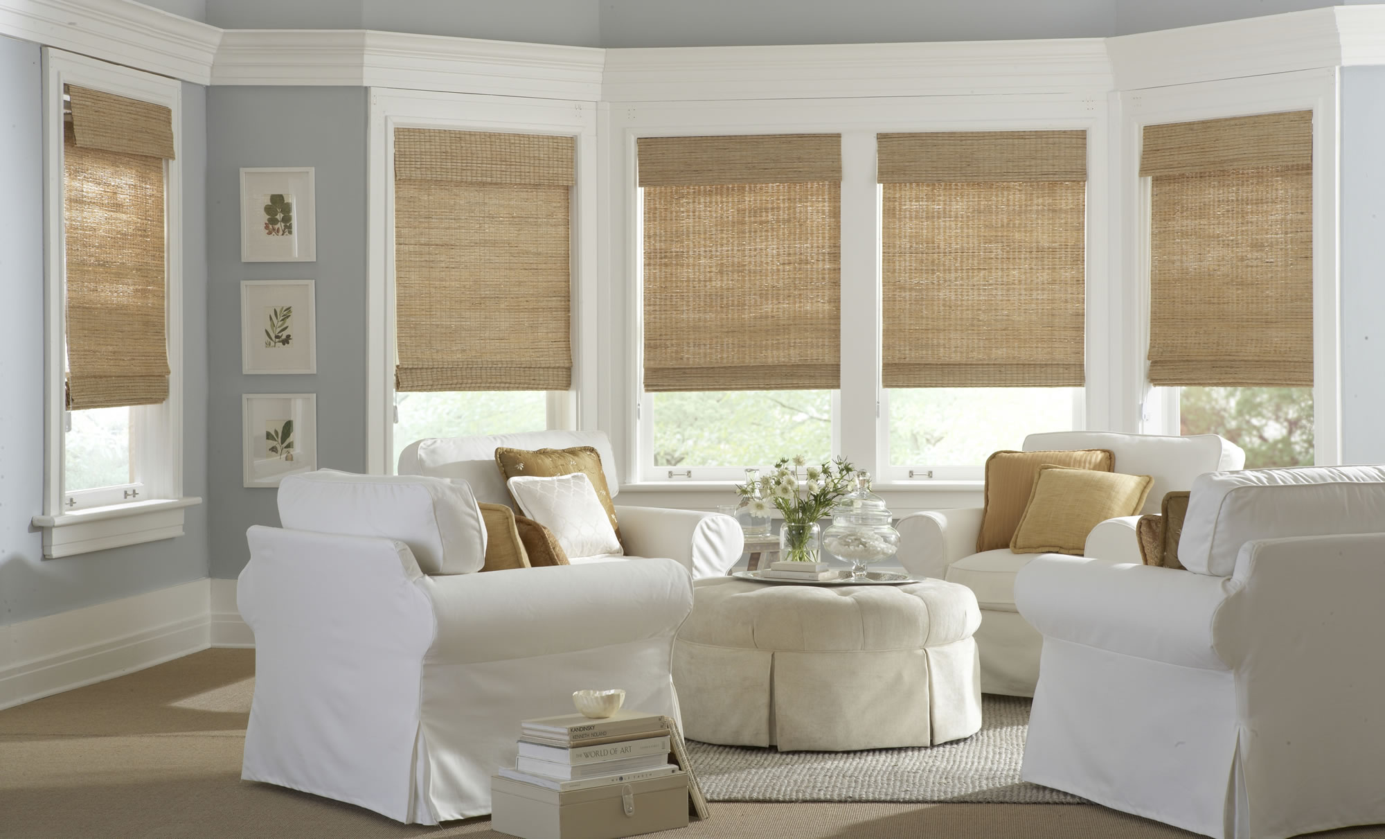 Bamboo Window Blinds For Modern Luxury Decoration Part 96