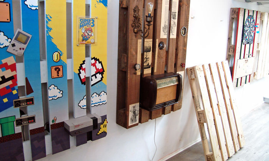 Creative Diy Pallet Wall Art Ideas