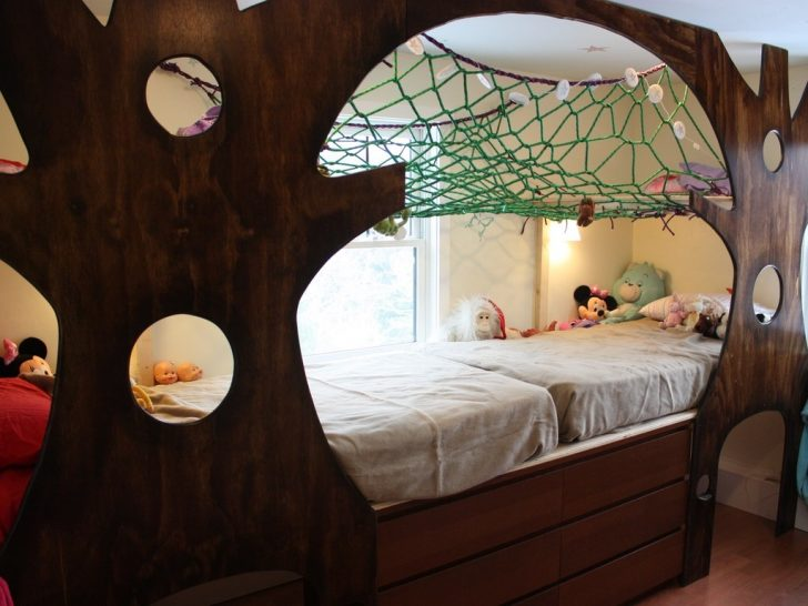Diy Indoor Treehouse Is The Best Gift For Your Kids
