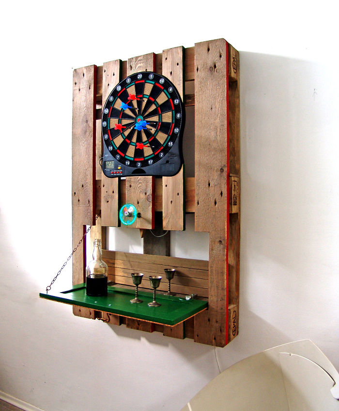 Diy Pallet Dart Board Ideas