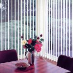 Fabric Vertical Blinds For Glass Windows