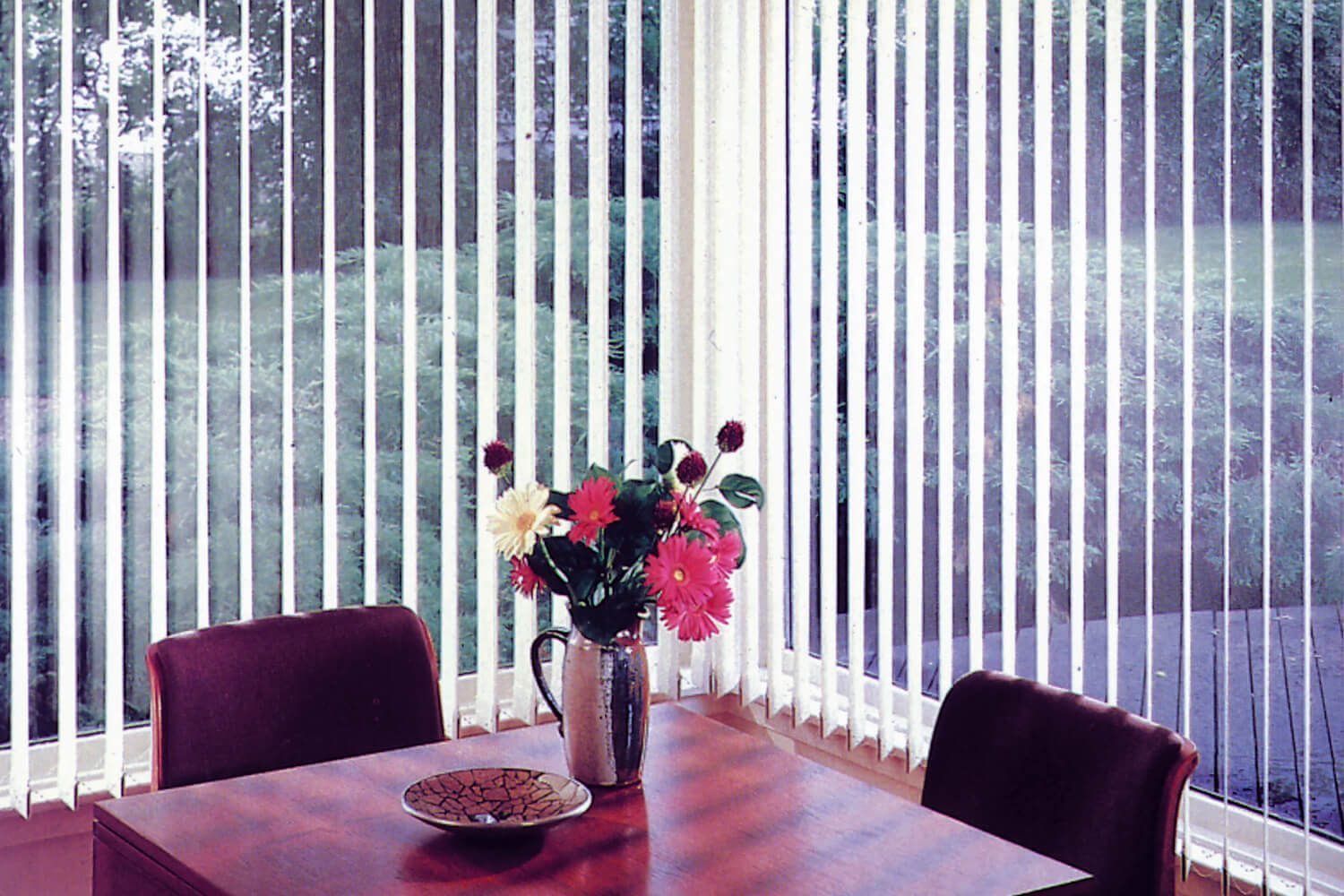 Fabric Vertical Blinds For Gl Windows