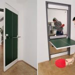 Ping Pong Door Table