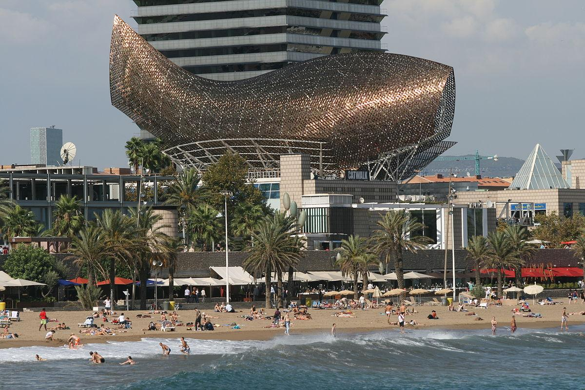 The Olympic Fish Pavilion, Barcelona