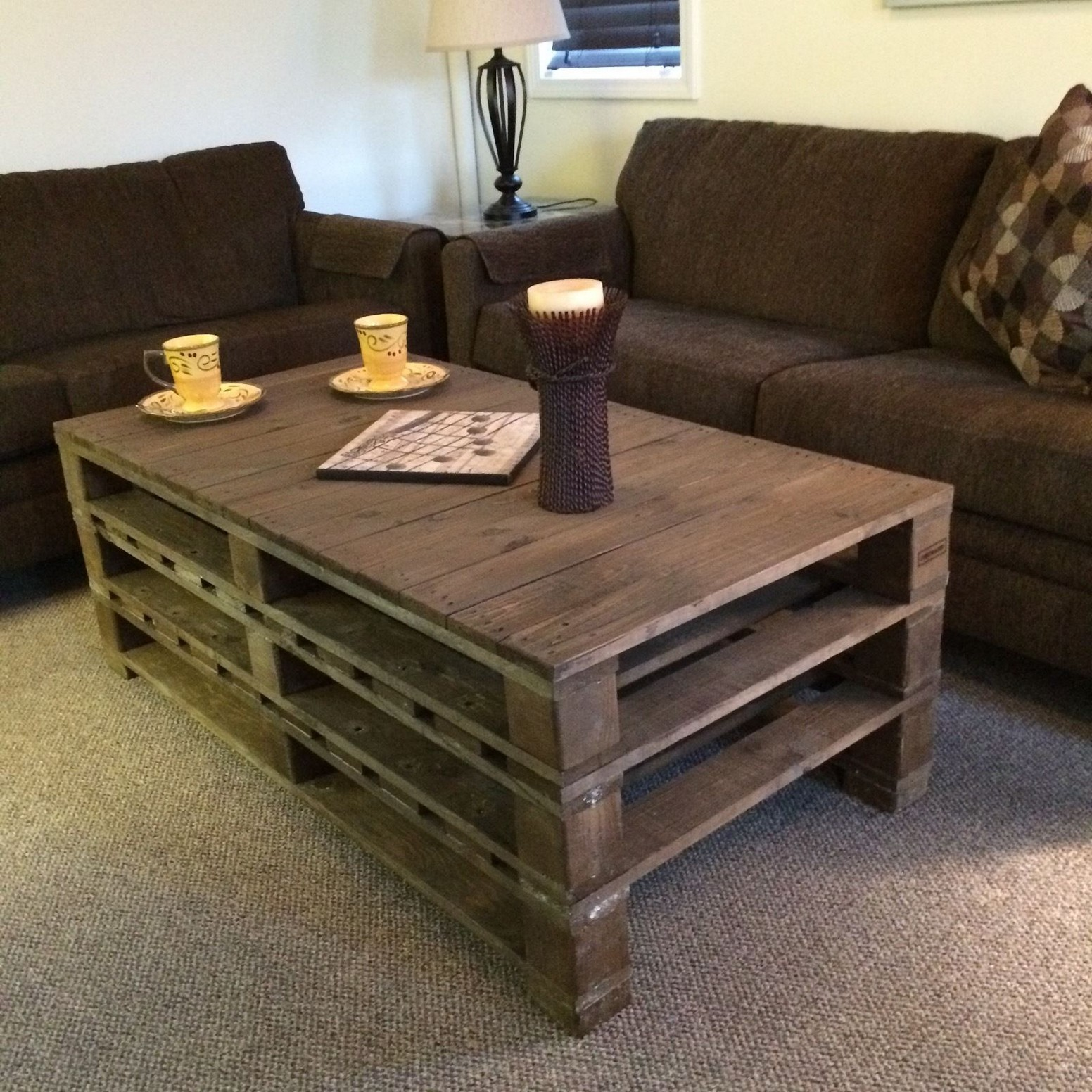 The Best 20 Diy Pallet Coffee Table Projects for Your Living Room - HGNV.COM