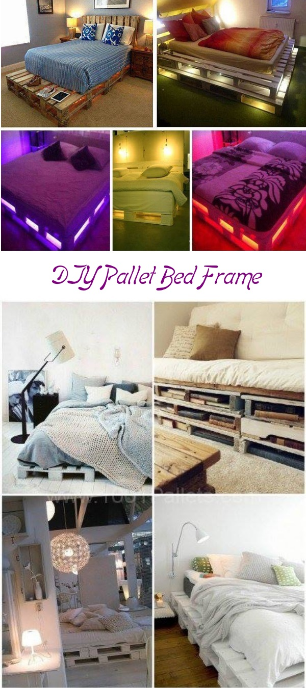 Single pallet bed frame - View In Gallery 55 Best Pallet Bed Frame Ideas To Duplicate In Your Diy Project