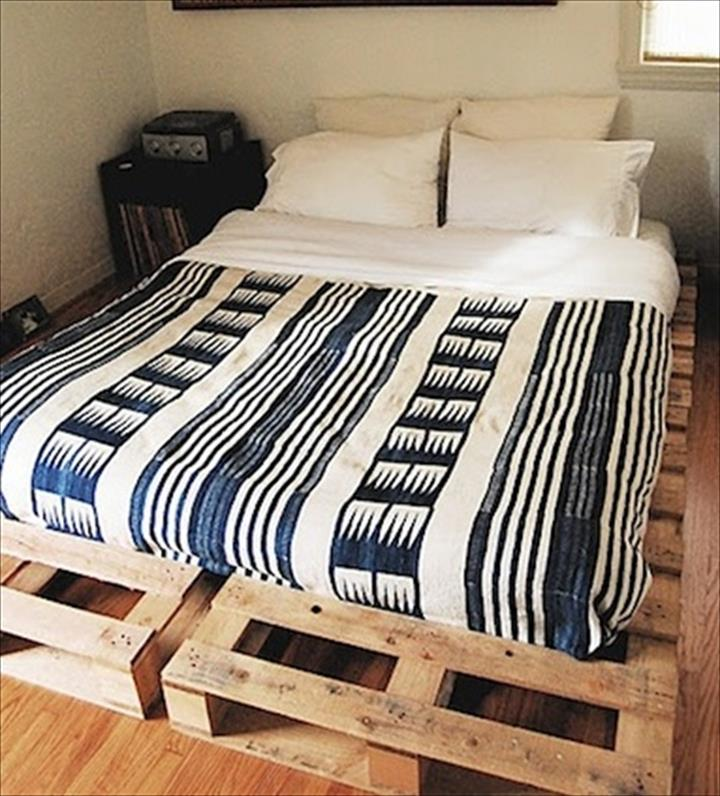 the best 28 pallet bed frame designs ever built - hgnv (diy