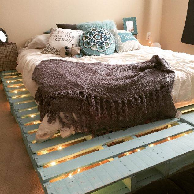 33 Cool Diy Recycled Pallet Bed Frame To Duplicate Diy