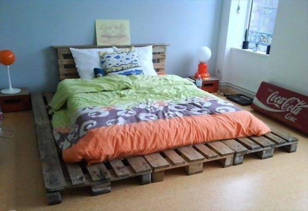 Build Your Own Bed Frame With This Simple Brilliant Pallet Ideas