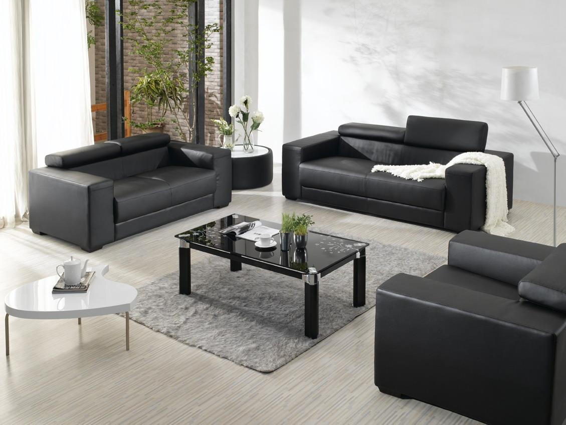 latest sofa set designs for living room furniture ideas  hgnvcom - view in gallery cool and opulent contemporary leather sofa sets elegant redrug with black furniture
