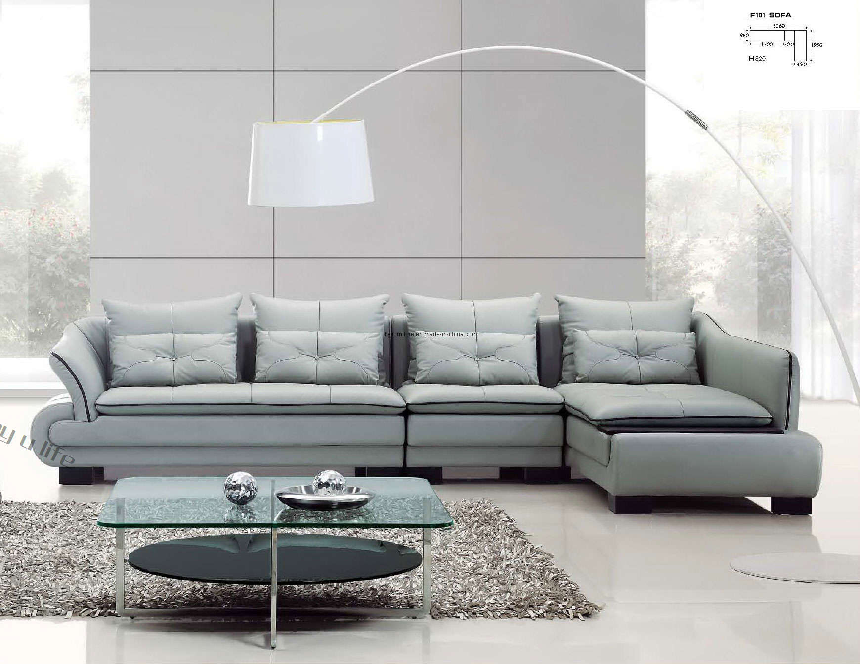 VIEW IN GALLERY Fresh Idea Contemporary Leather Sofa Sets Amazing Inspiration Modern Sofas A