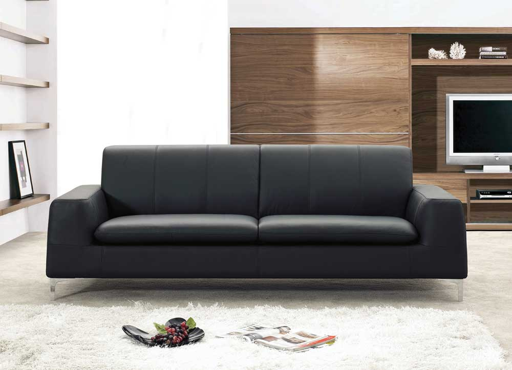 VIEW IN GALLERY Ingenious Design Ideas Contemporary Leather Sofa Sets 12  Most Unique Modern Leather Sofa Sets