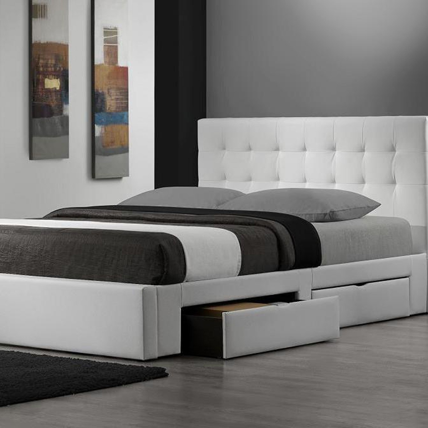 Mesmerizing King Size Bed Frame With Headboard And Interior Model