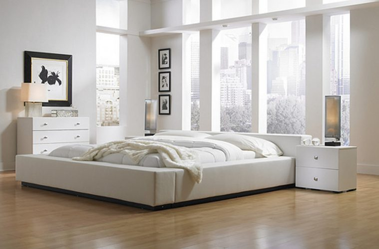 Modern White Master Bedroom Furniture Ideas For Modern Bedroom Interior Decoration HGNV.COM