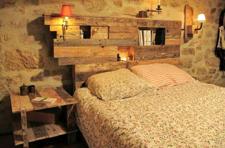 33 Cool DIY Recycled Pallet Bed Frame To Duplicate U2013 DIY Bedroom Pallet  Furniture