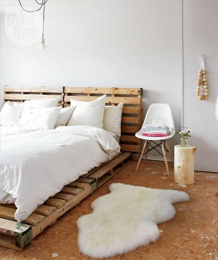 The Best 28 Pallet Bed Frame Designs Ever Built - HGNV.COM (DIY ...