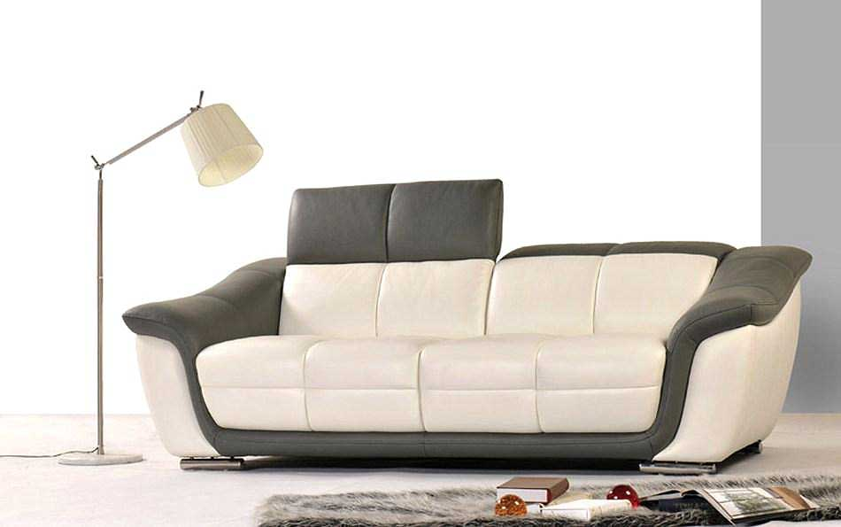 Modern sofa sets white modern sofa set vg 74 leather sofas for Latest living room furniture designs