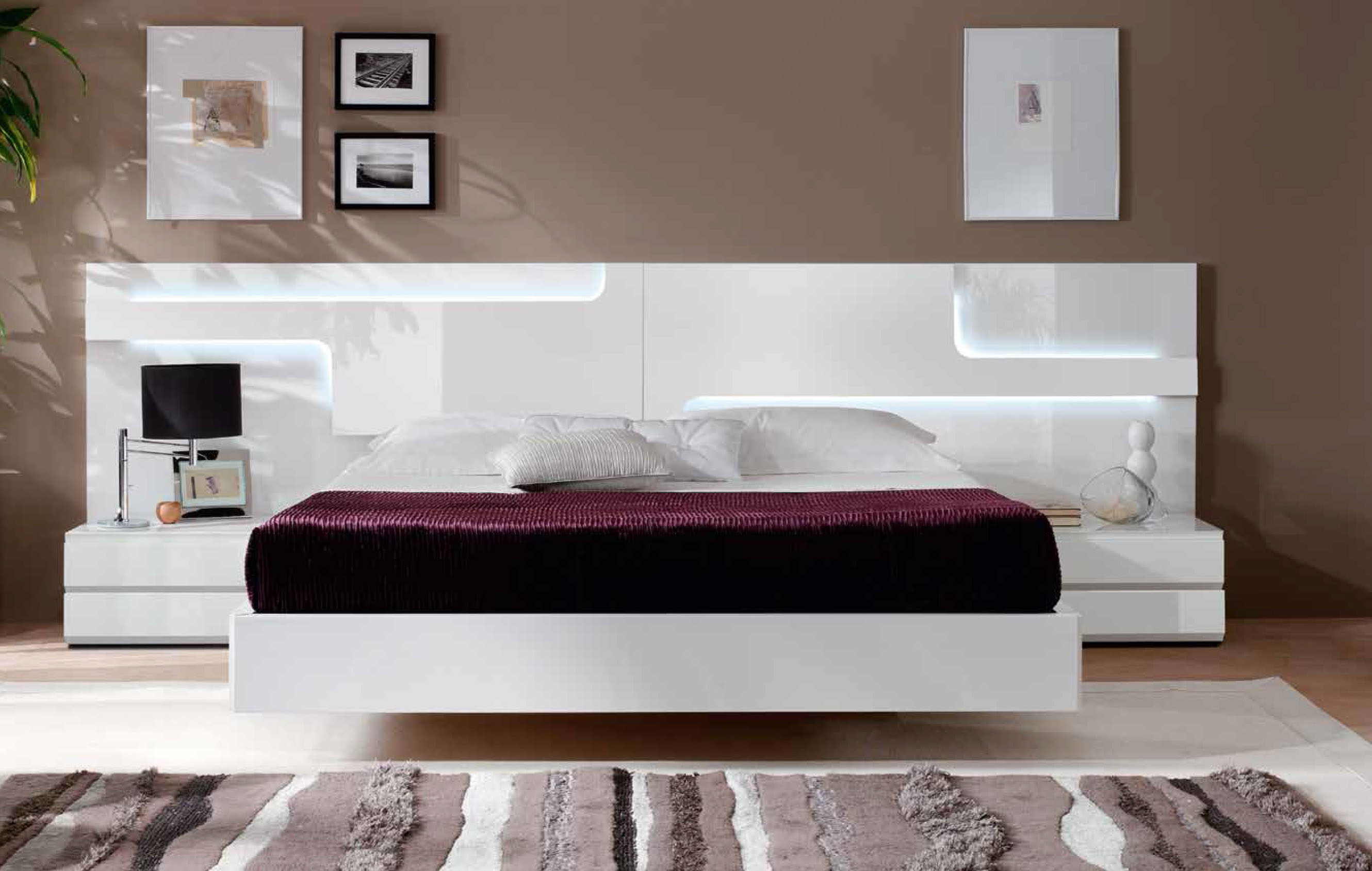 Top modern white master bedroom furniture ideas