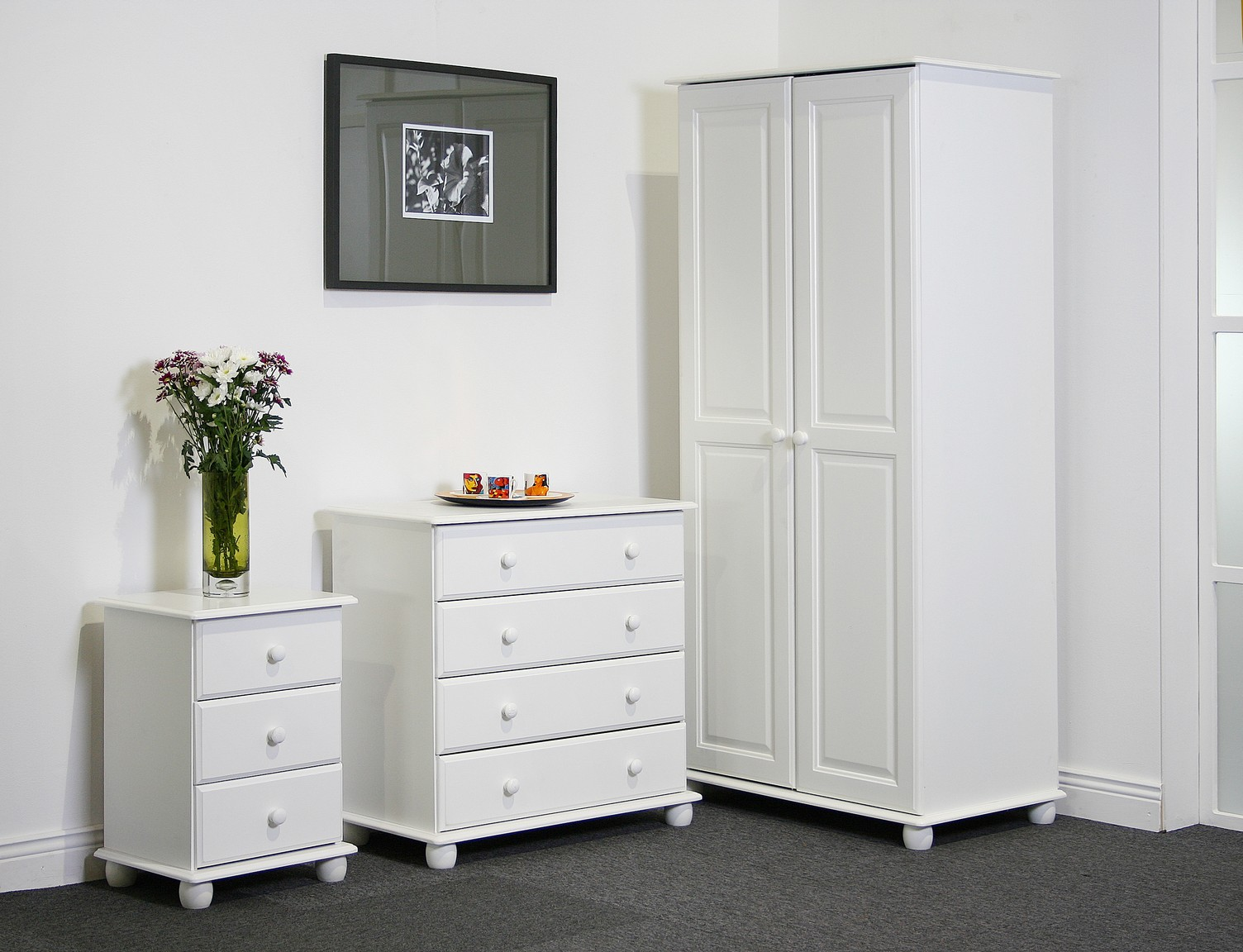 15 top white bedroom furniture might be suitable for your for White wood bedroom furniture