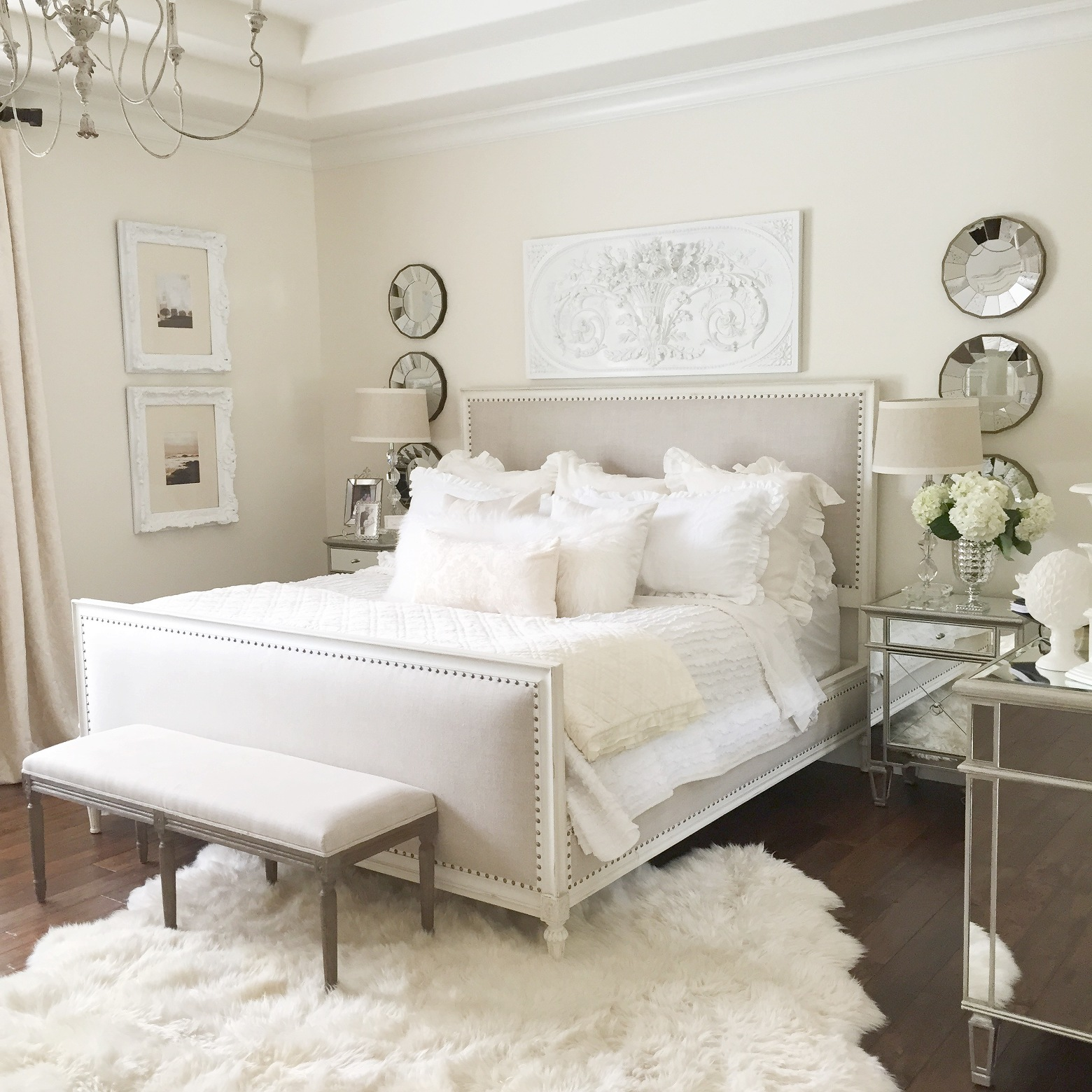 White Queen Bedroom Furniture Sets HGNV.COM