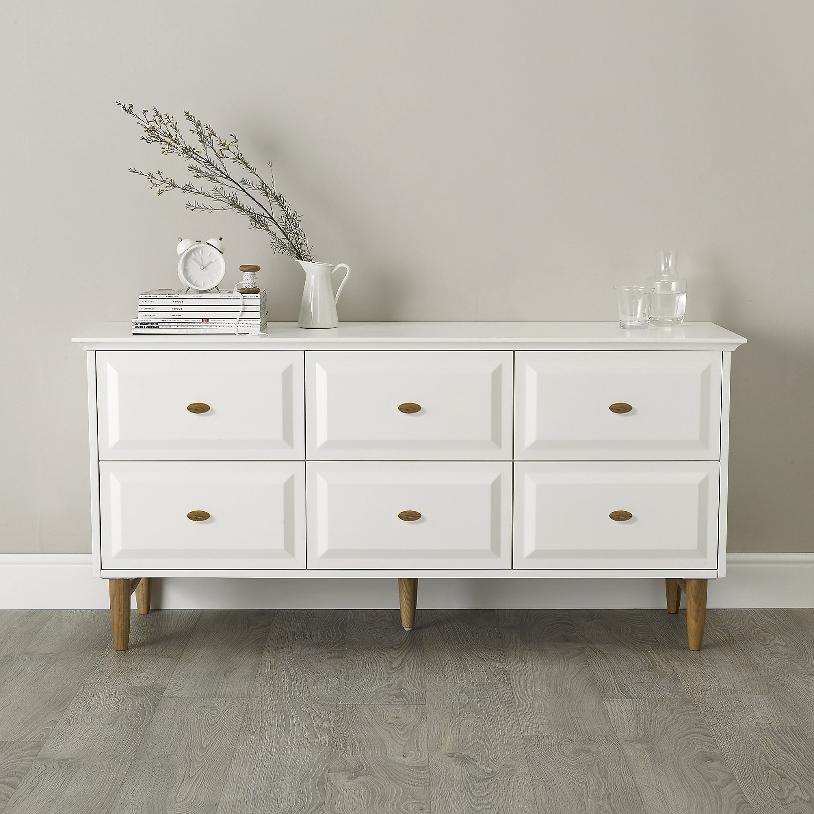 Solid Wood Bedroom Furniture White Antique French