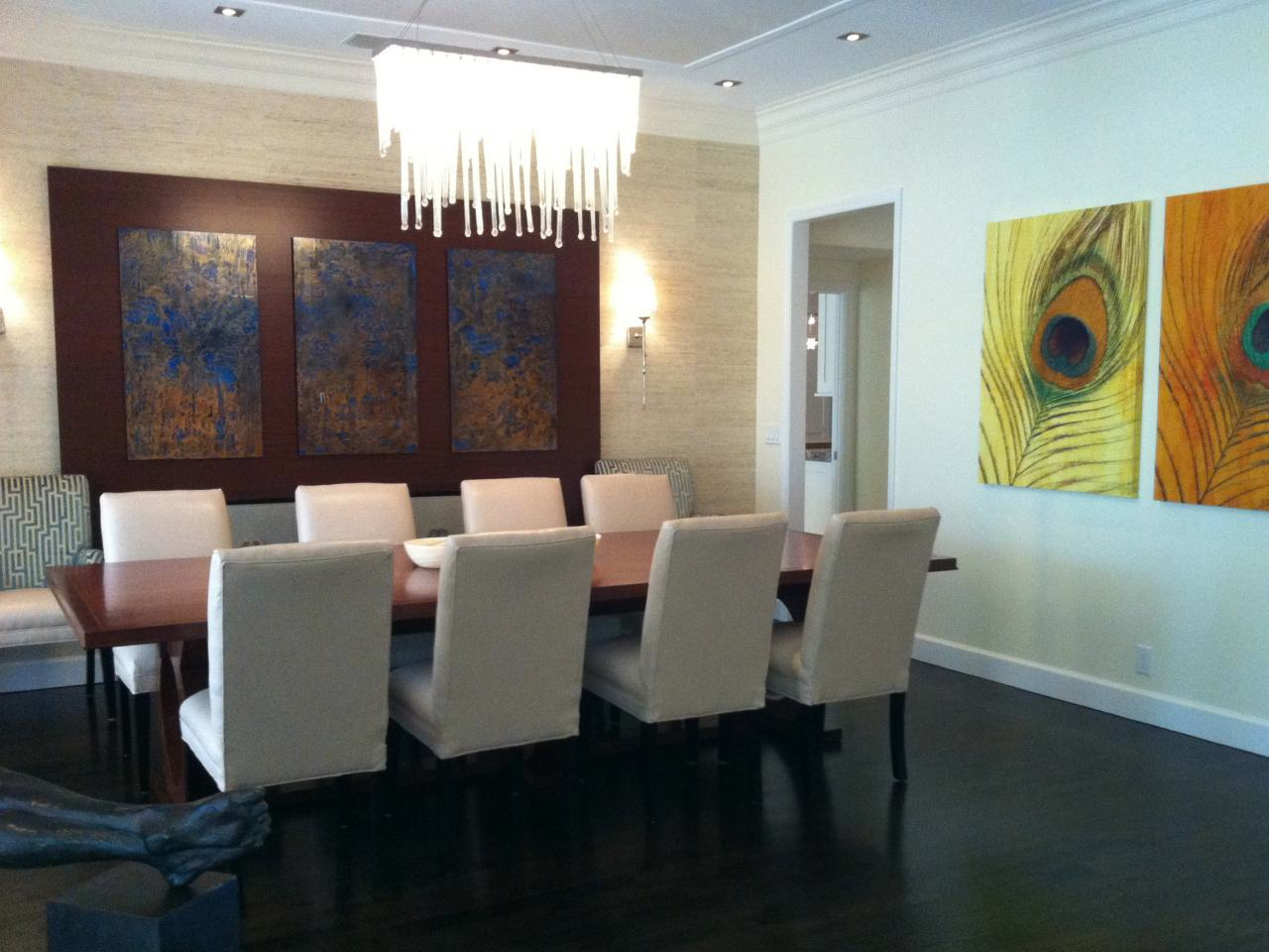 VIEW IN GALLERY Awesome Modern Dining Room Chandelier Great For Contemporary Design