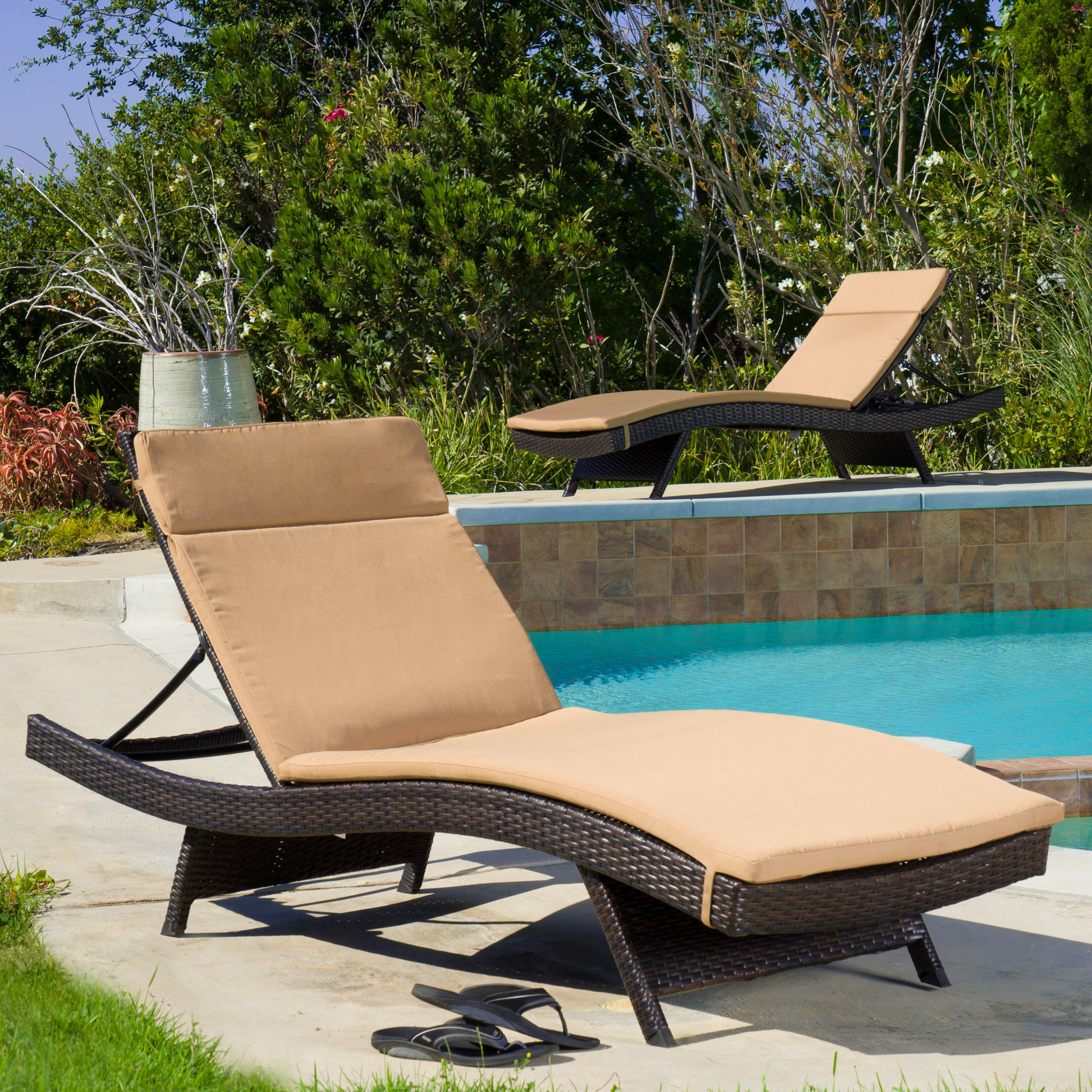 set monterey lounge darlee patio cushion sling piece ultimate chaise outdoor