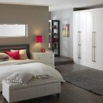 Cool built in sliding fitted wardrobes white doors with storage for bedroom