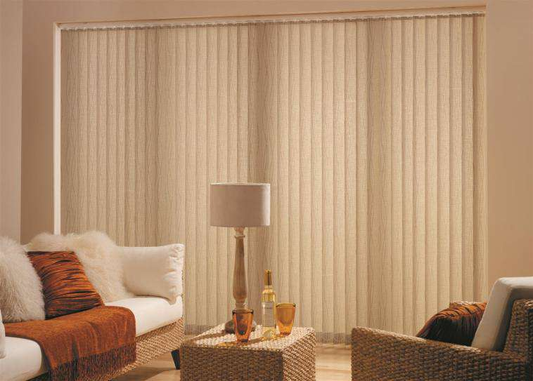 Made to measure vertical blinds modern sliding door window treatments