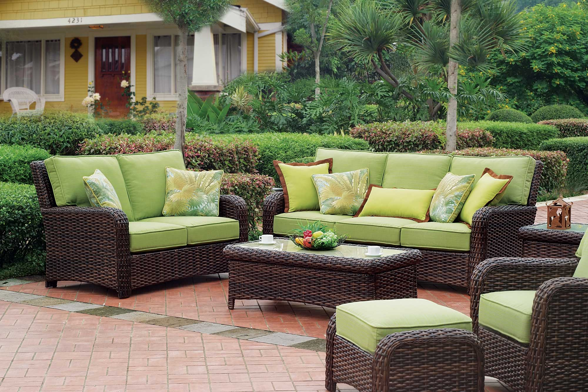 View In Gallery Modern Outdoor Furniture Rattan Patio