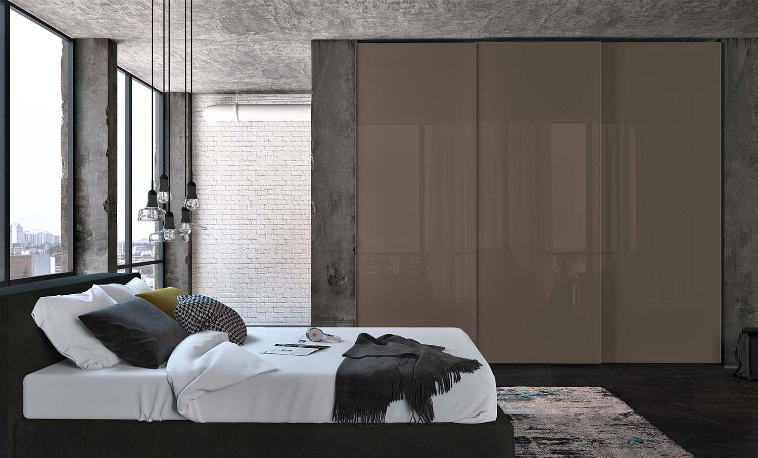 22 fitted bedroom wardrobes design to create a wow moment for Wardrobe interior designs catalogue