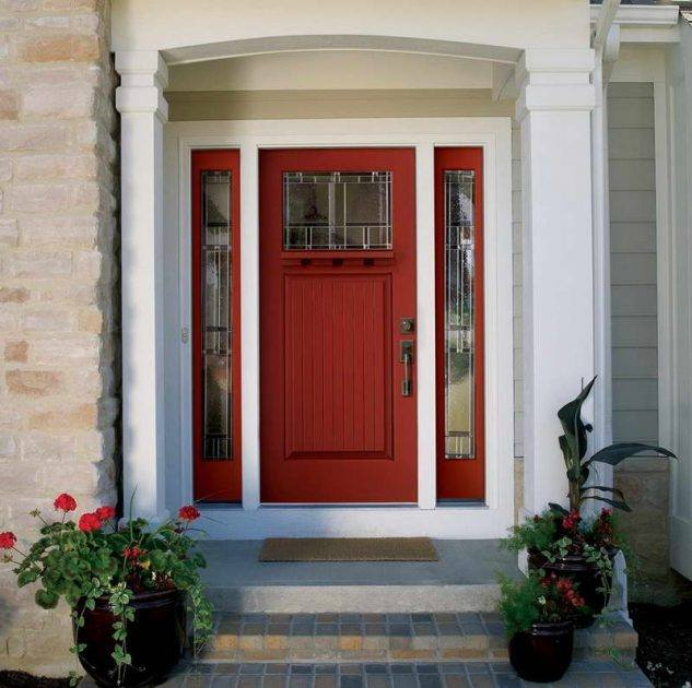 Red Front Door: 14 Best Front Door Design That Will Inspire You